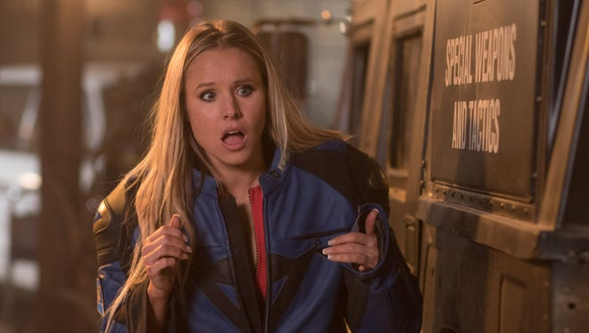 Kristen Bell convinced husband Dax Shepard to cast her in his 'CHIPS' movie.