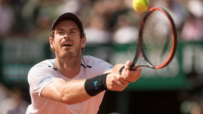 No. 1-ranked Andy Murray, the defending champion, is the top-seeded player at this year's Wimbledon.