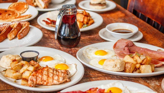 Celebrate National Breakfast Month at Puckett's this month.