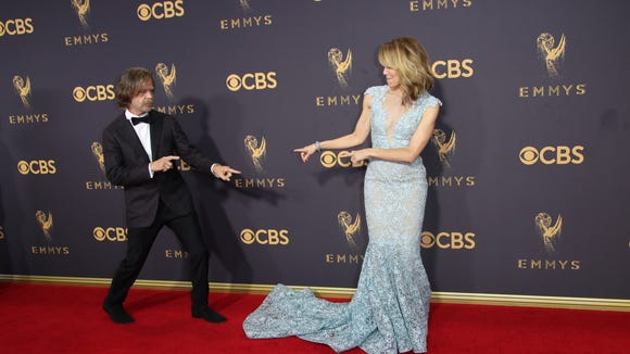 Felicity Huffman and William H. Macy hammed it up on