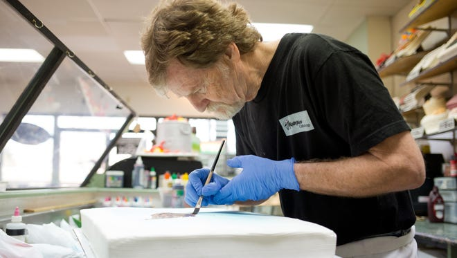 Jack Phillips, owner of Masterpiece Cakeshop in Lakewood, Col., is at the center of a Supreme Court case on same-sex marriage that will be heard Tuesday.