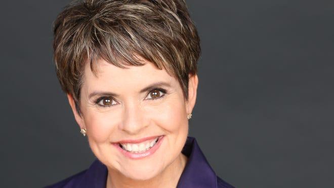 Channel 4 anchor Demetria Kalodimos