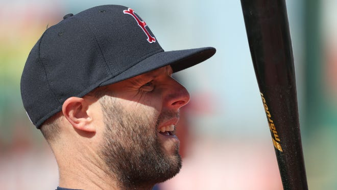 Red Sox star Dustin Pedroia is in Rochester on a rehab stint with Pawtucket.