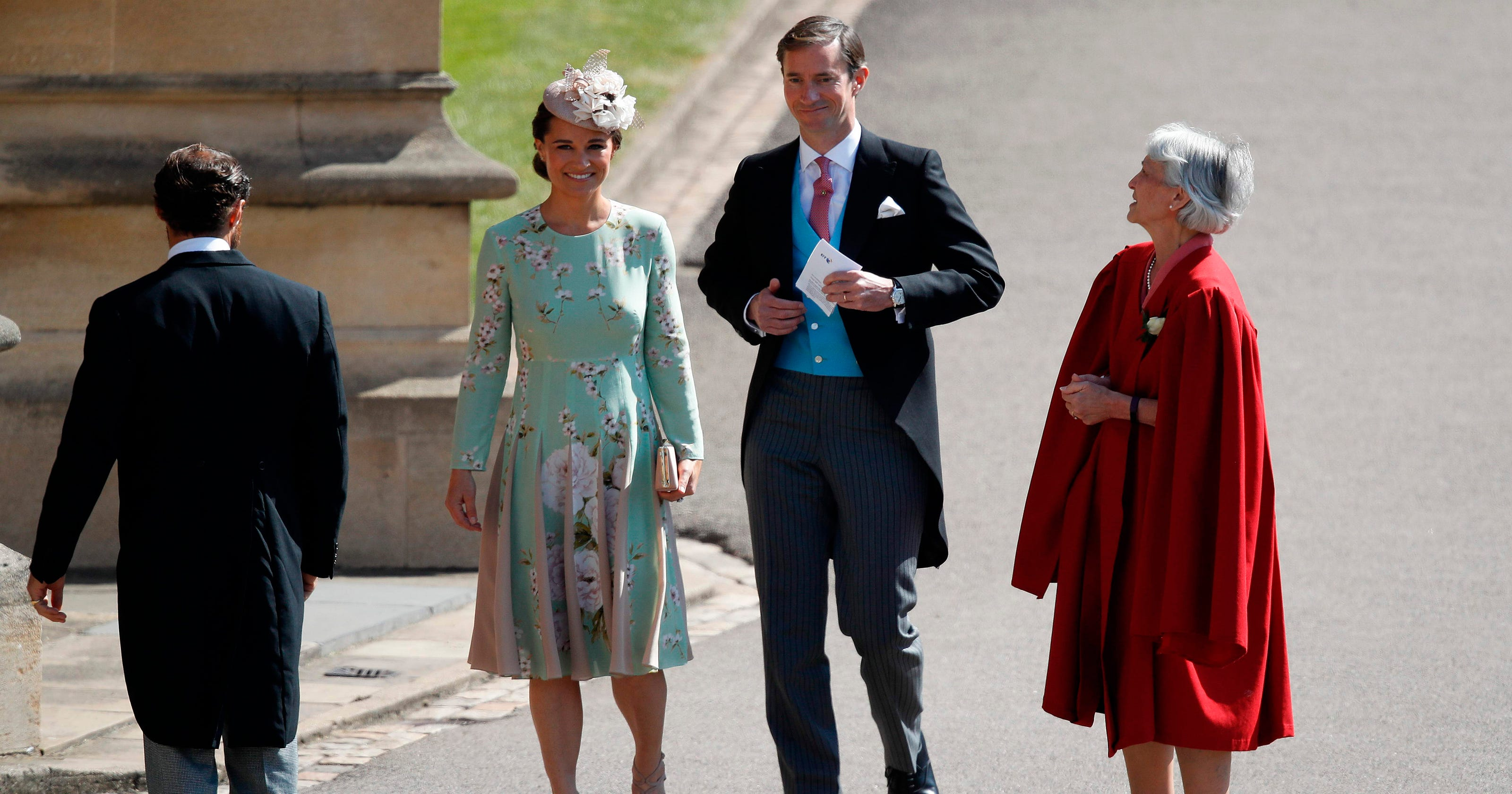 Pippa Middleton steals the show at another royal wedding