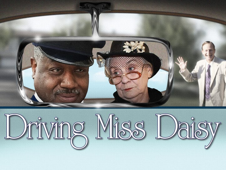 """Driving Miss Daisy"" logo."