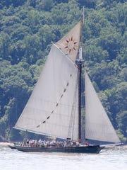 The sloop Clearwater.