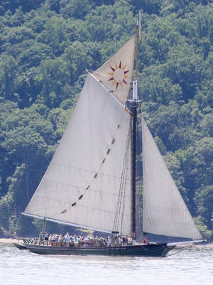 The sloop Clearwater.