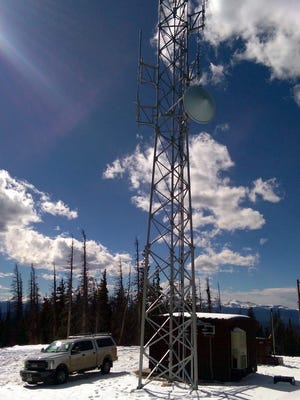 The Larimer County Killpecker Radio Tower began broadcasting emergency communications in October and has about one week's worth of work before completion.