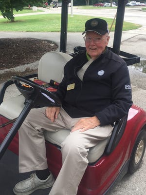 Arnold Walker, 95, has served the Wisconsin golf community in numerous volunteer roles for years.