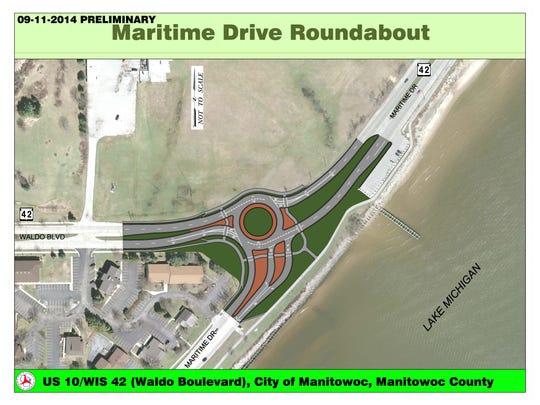 Maritime Drive Roundabout