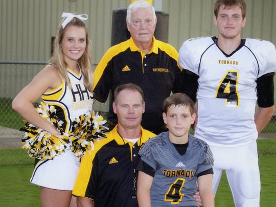 The Franklin family has enjoyed athletic success in