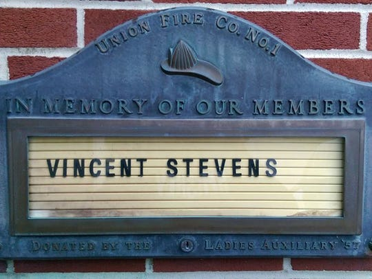 Vince Stevens spent over 50 years with Union Fire Company