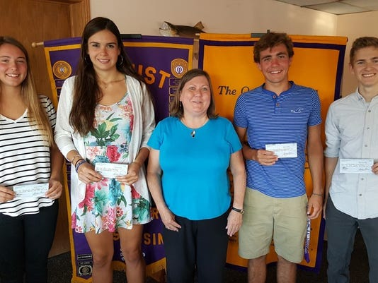 Two Rivers Optimist Club scholarships