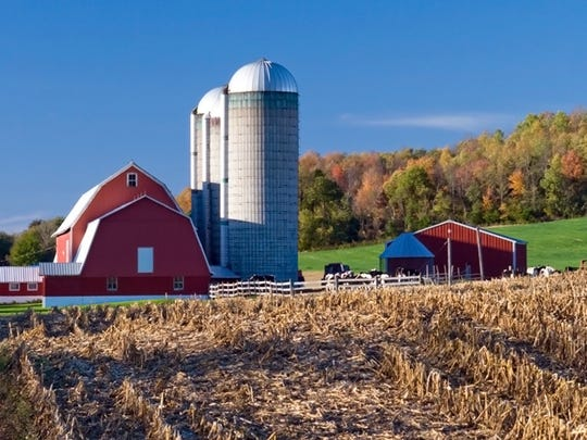 Brown County has 1,000 farms of varying sizes, including