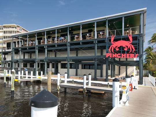 The Pinchers chain, known for its Gulf seafood and waterfront views, has struggled to adapt to a takeout-only format.