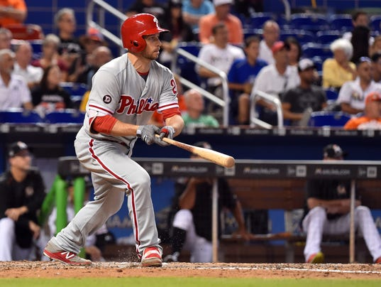 MLB: Philadelphia Phillies at Miami Marlins
