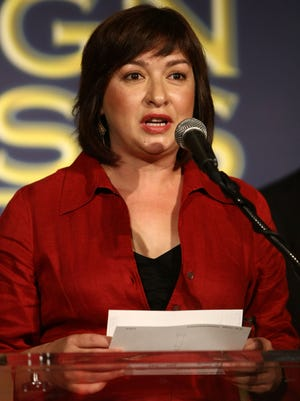 Elizabeth Pena, who died Oct. 16, at Hollywood Foreign Press Association's annual summer luncheon July 30, 2008 in Beverly Hills.