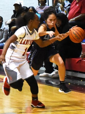 Loyola guard Sarah Siharath will lead the Flyers into Tuesday's LHSAA Division II state semifinal contest against Ursaline Acacademy.