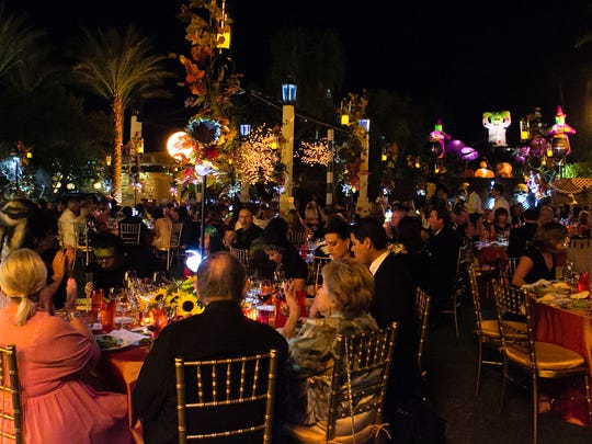 Scenes from Desert Cancer Foundation's 14th Annual Gift of Life Celebration, held at Jim Houston's residence in Palm Springs in 2012.