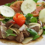 Shaken Cube Beef Salad from Pho Plus in Cape Coral