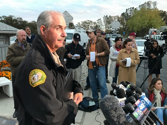 Tehama County Assistant Sheriff Phil Johnston answers