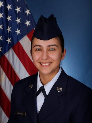 U.S. Air Force Airman Audrey C. Carranco from Beeville graduated basic military training at Joint Base San Antonio-Lackland.