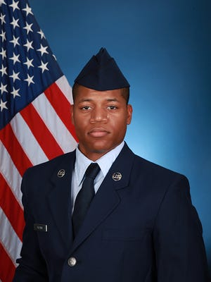 U.S. Air Force Airman Quincy D. Brown graduated from basic military training at Joint Base San Antonio-Lackland, San Antonio, Texas.