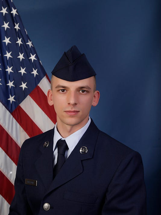 U.S. Air Force Airman Trevor J. Kellogg