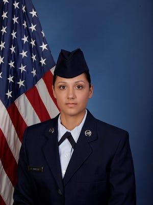 U.S. Air Force Airman Amber J. Flannery
