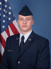 U.S. Air Force Airman Dylan V. Wollitz