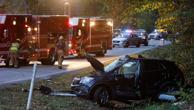 The scene of a fatal collision at U.S. 42 and Falls Creek Rd. took place Monday evening. The collision involved a TARC bus and several other vehicles. Oct. 10, 2016