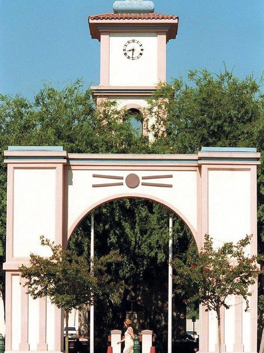 tulare clock tower