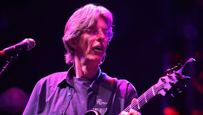 Bassist Phil Lesh, pictured in 2009 at The Forum in Los Angeles
