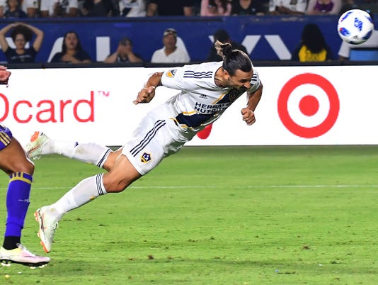 MLS: Orlando City SC at Los Angeles Galaxy