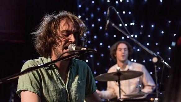 Brian Noyes-Watkins and drummer Jake Brady of Tomten