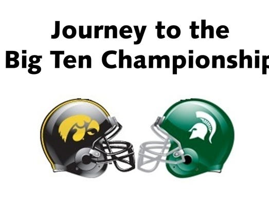 Iowa and Michigan State will square off in the Big