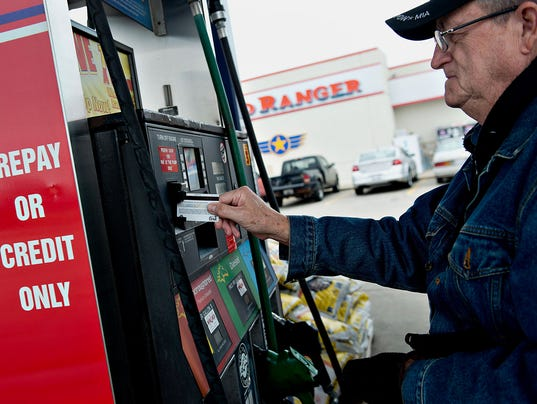 BLM GASOLINE PRICES A FIN USA IL