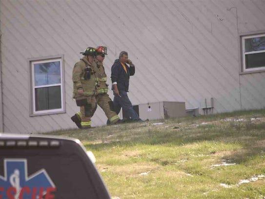 Two Johnson City firefighters and an unknown person