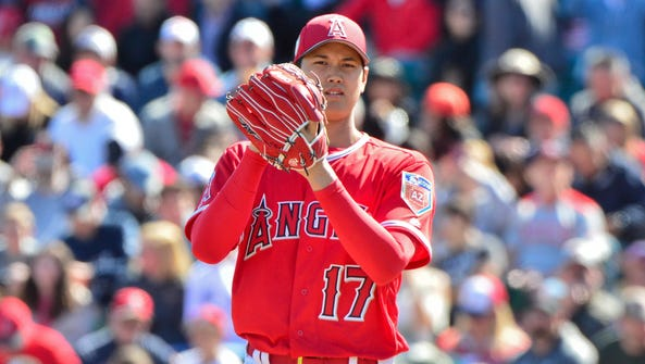 Shohei Ohtani allowed one earned run in his first start.