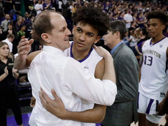 Matisse Thybulle (right) considered leaving Washington