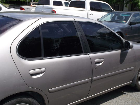 Driving A Car With Tinted Windows To New State