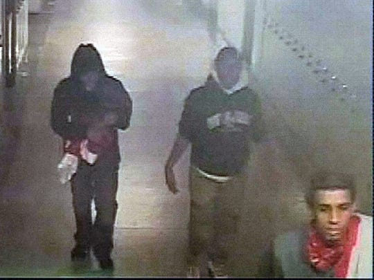 Police are searching for these three suspects in connection