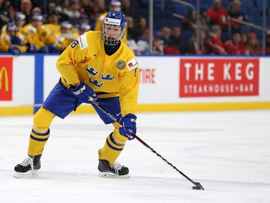 NHL draft Rasmus Dahlin