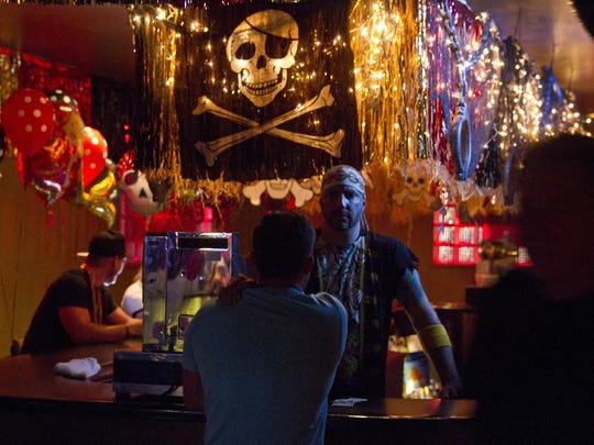 D'Jais in Belmar hosts pirates and mermaids night.