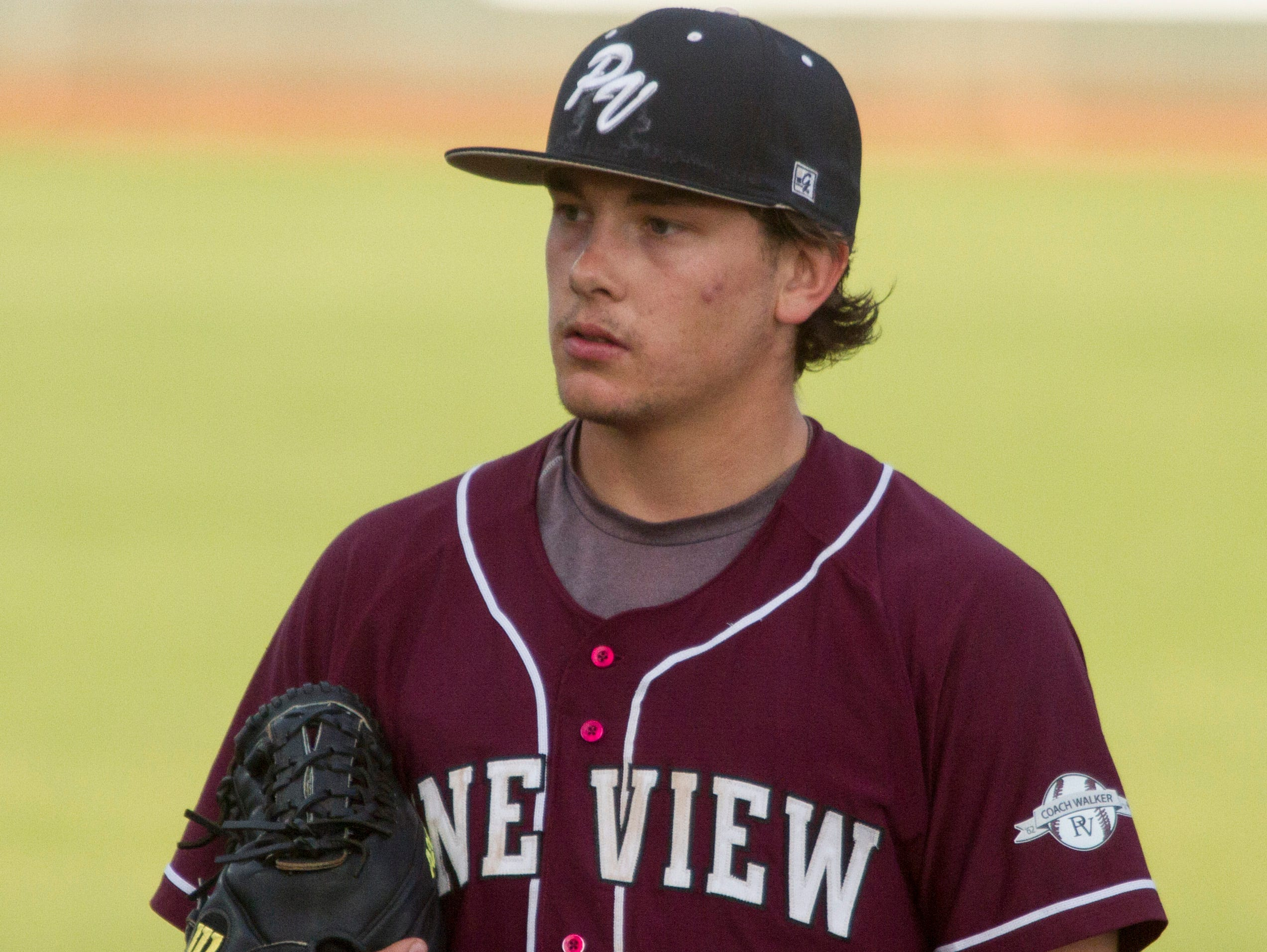 Pine View pitcher Brooks Barney threw a complete game in a 5-2 victory over Snow Canyon. The senior gave up just three hits while striking out seven Friday night.