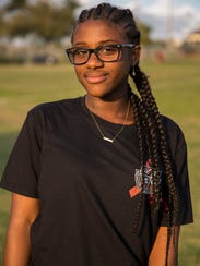 Danielle Dayes, 16, is a junior at Marjory Stoneman