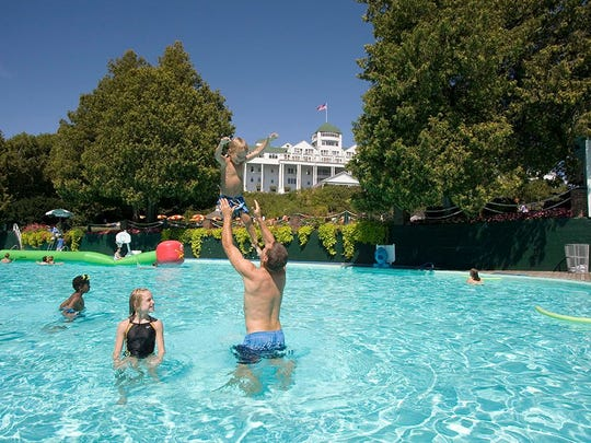 The Esther Williams pool is always refreshing