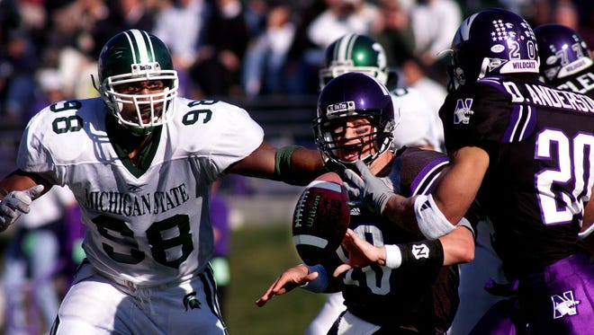 Julian Peterson holds MSU's career, single-season and single-game records for tackles for loss.