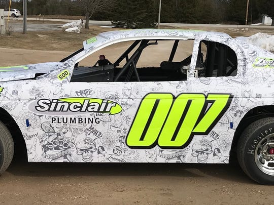 """Luke Lemmens is one of two Kewaunee drivers who'll jump back into the IMCA stock car division in 2018. Brian Bruechert is also returning to the class dubbed """"Too Tough To Tame."""""""