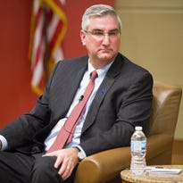 Holcomb never has had to deal with Democrats